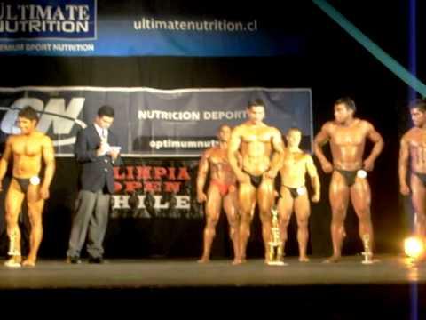 Overall winner Fernando Escobar - Olimpia Open Chi...