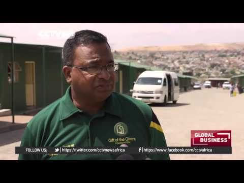 Alexandra township residents benefit from green village
