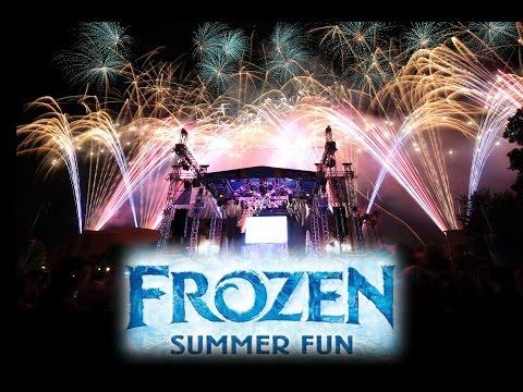4K Frozen Fireworks Spectacular Full Show 2015-06-17 Summer Fun Disney's Hollywood Studios GH4