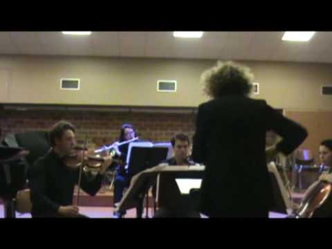 EDGAR ALANDIA Passacaglia for piano and ensemble