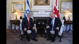 PM Netanyahu Meets UK PM Johnson