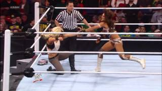 Kaitlyn attacks Eve during her Champion