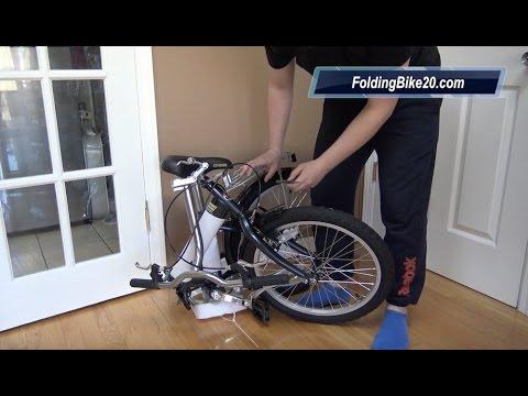 f52a239d294 Schwinn Hinge Folding Bike Unboxing - YouTube