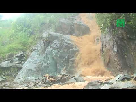Báo TNMT: Sơn La: Mưa lớn gây sạt lở, ách tắc quốc lộ 4G nhiều giờ đồng hồ
