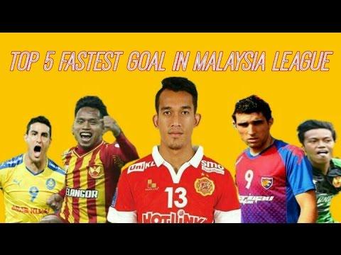 Top 5 Fastest Goal In Malaysia League