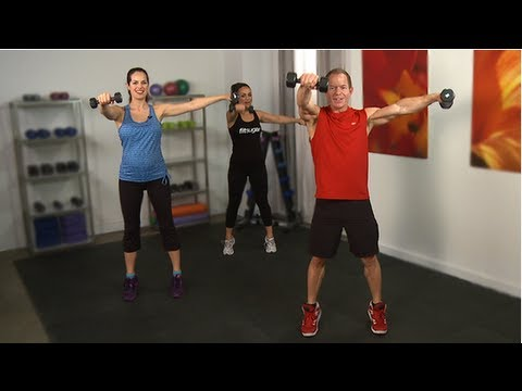 Tone Your Arms and Core With Cameron Diaz's Trainer — in J
