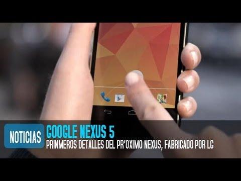 Nexus 5, caracter�sticas y especificaciones similares al LG Optimus G Pro