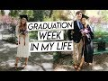 COLLEGE GRADUATION WEEK IN MY LIFE! my last college week in my life nyc