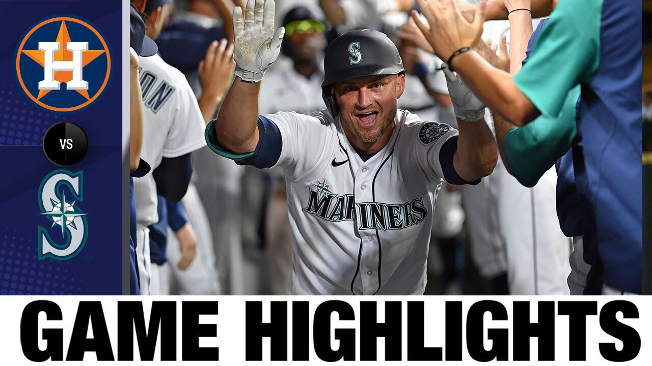 Download Astros vs. Mariners Game Highlights (7/26/21) | MLB Highlights