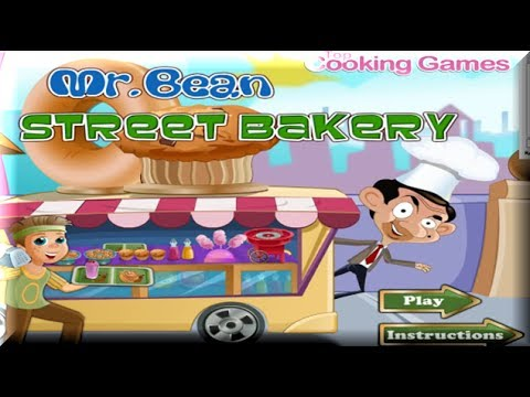 Mr Bean Street Bakery – Cooking Games for Kids