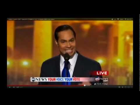 Julian Castro's Speech, Unlike Marco Rubio's, Actually Represents Democratic Platform