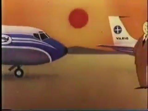 Varig - Feliz Natal (Anos 70) - TravelerBase - Traveling