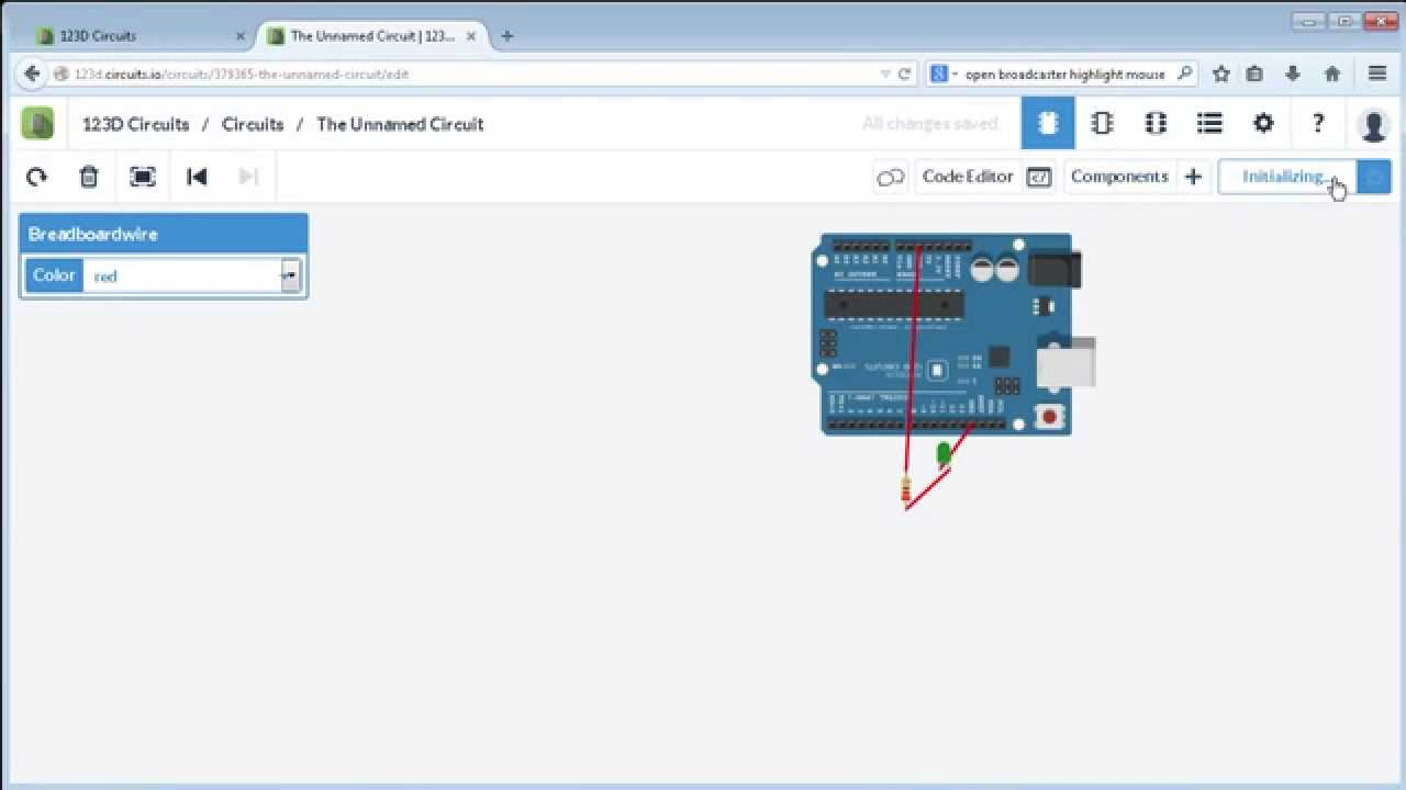 123d Circuits Introduction Youtube Design Easily With Webbased Circuit Simulator Make