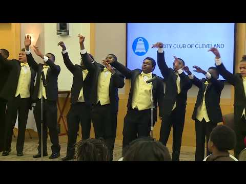 Distinguished Gentlemen of the Spoken Word at The City Club of Cleveland 5.16.2016