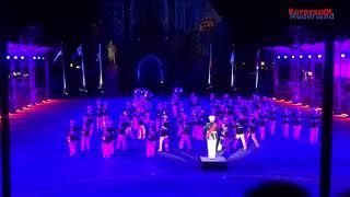 Show & Marchingband Exempel tijdens Taptoe Delft 2018