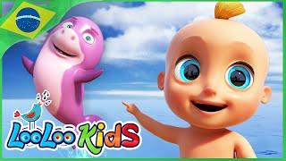 Bebê Tubarão (Baby Shark) - Música Infantil | LooLoo Kids Português