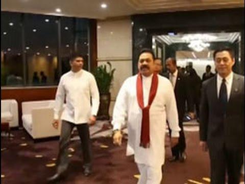 Mahinda Rajapaksa meets provincial leaders in China