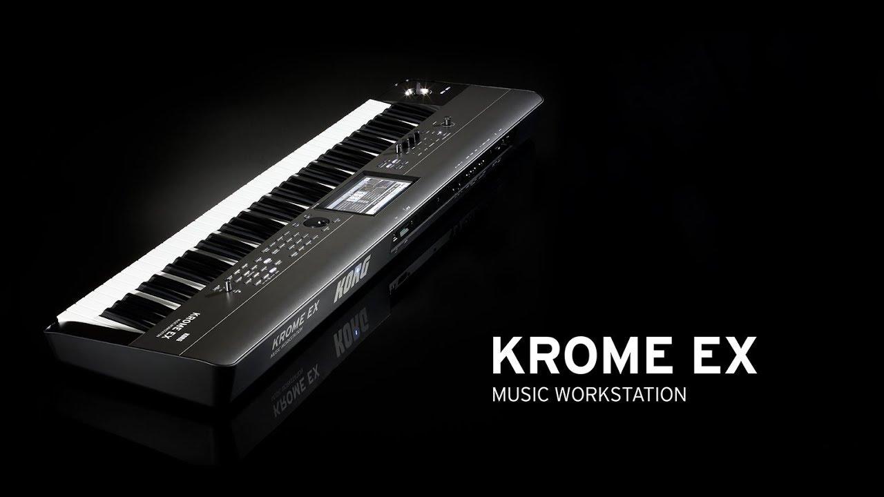 KROME EX - MUSIC WORKSTATION | KORG (USA)