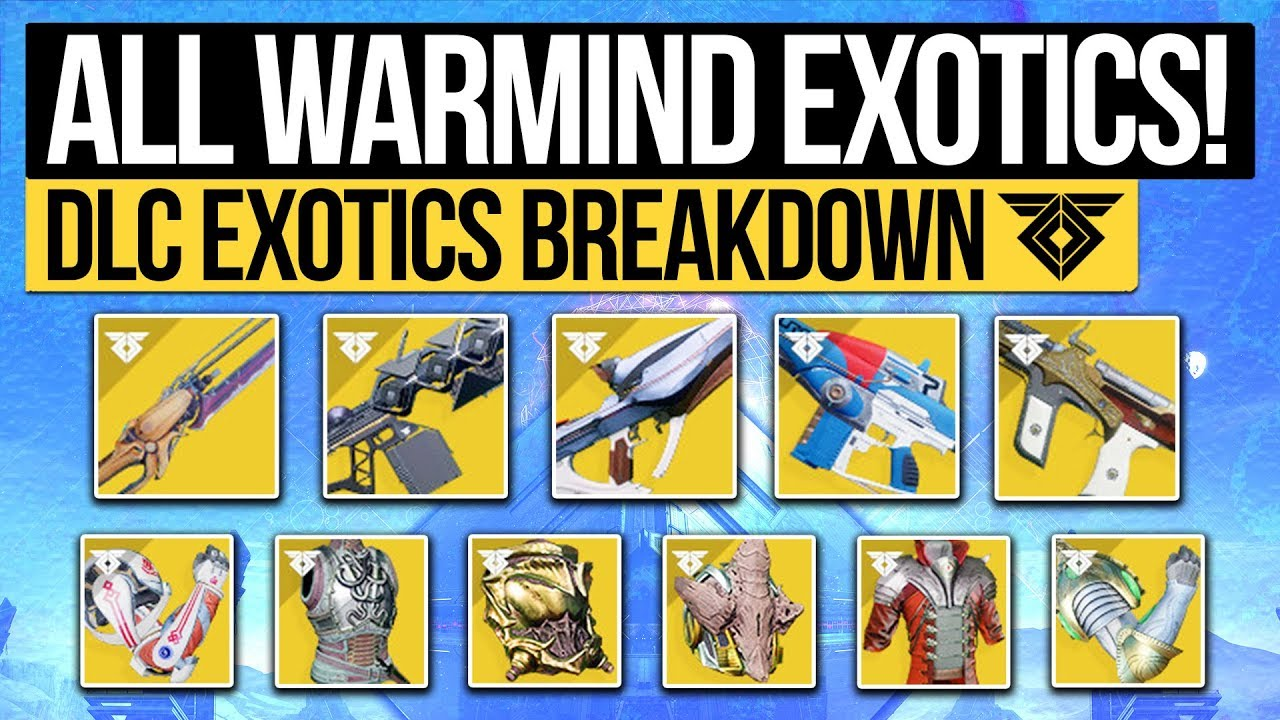 destiny 2 exotics checklist