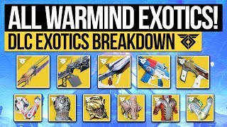 Destiny 2 | ALL WARMIND DLC EXOTICS! - Every New Exotic Weapon & Perks, New Class Armor & More!