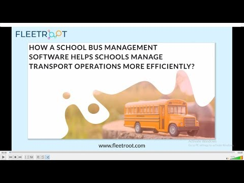 School Bus GPS Tracking System: The Best Guide 2019 | Fleetroot
