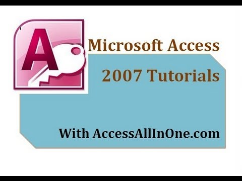ms access 2007 relationships tutorial pdf