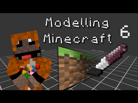 Modelling Minecraft - E6: Textures & Transparency