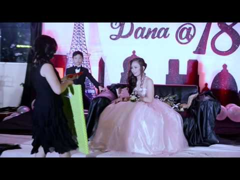 Dana Patricia @ 18 with her 18 Treasures