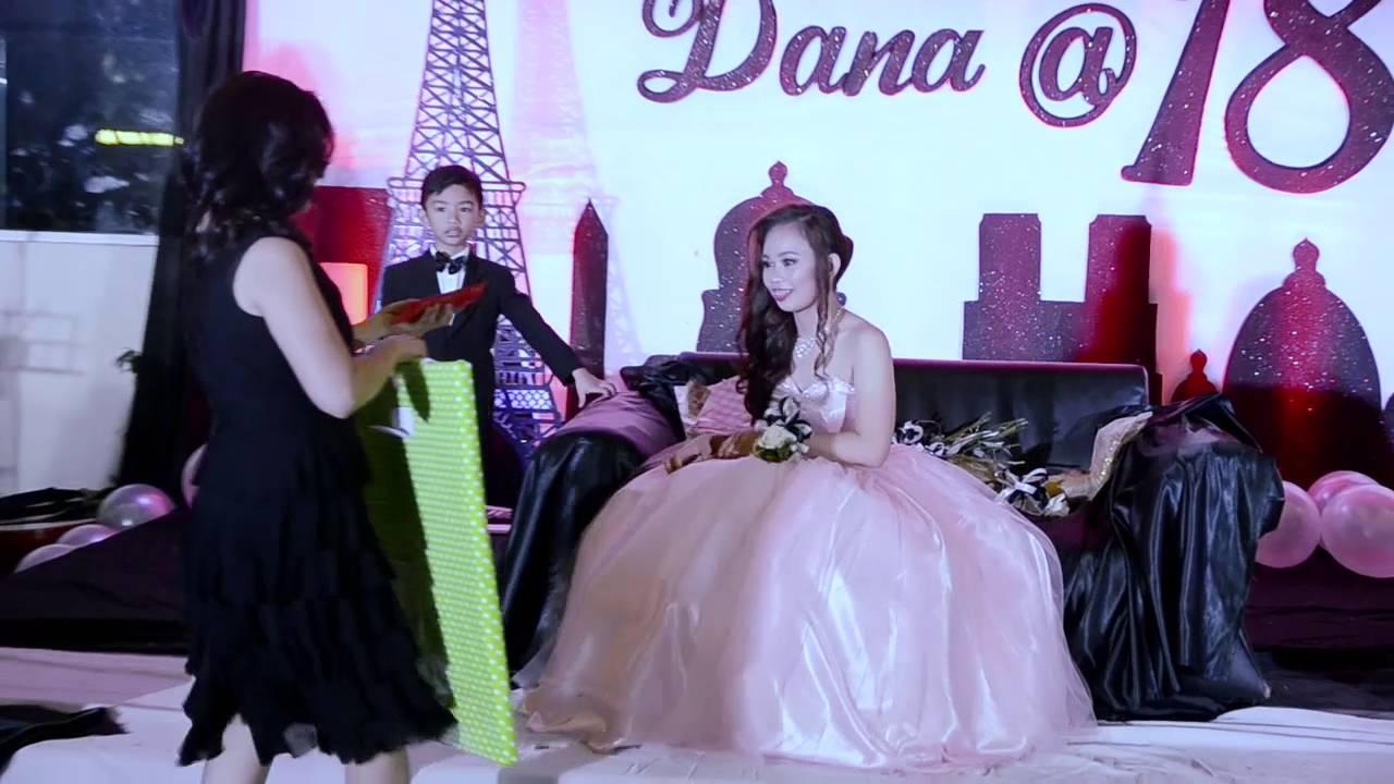 Dana Patricia 18 With Her 18 Treasures Youtube