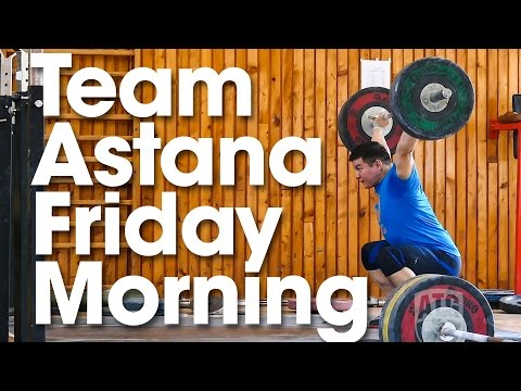 ATG on Tour Team Astana Friday Morning Training Part 1 Where