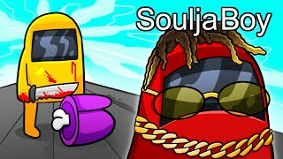 Soulja Boy is the MOST FUN person to play Among Us with...