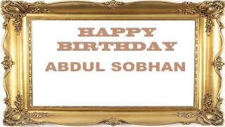 AbdulSobhan   Birthday Postcards & Postales - Happy Birthday