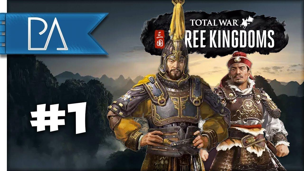 Yuan Shao VS Sun Jian - Total War: Three Kingdoms - Multiplayer Campaign #1