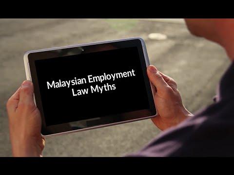 Malaysian Employment Law Myths