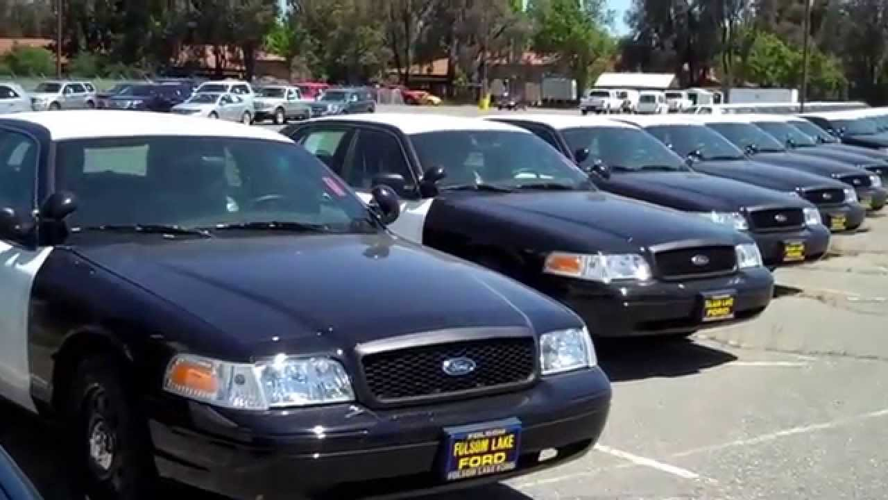 Folsom Lake Ford >> Folsom Lake Ford Fleet Has A Huge Selection Of New Police Ca Youtube