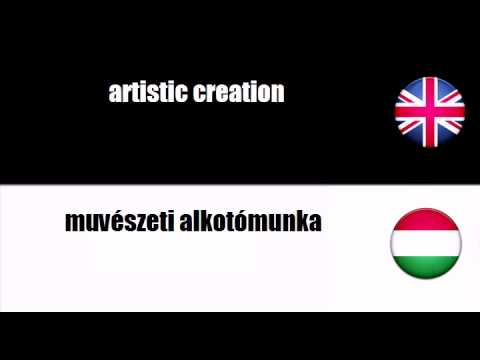 ENGLISH HUNGARIAN   artistic creation