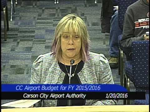 Airport Authority Meeting 1/20/2016