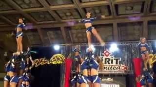 Maryland Twisters Weathergirls at Charm City Championship 2014 Medi...