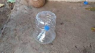 Tavuk yemliği su şişesinden nasıl yapılır