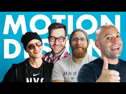 State of Motion Design Education Panel Livestream
