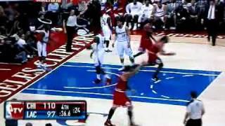 Derrick Rose Crosses Chris Paul and assists to Noah 12/30/11