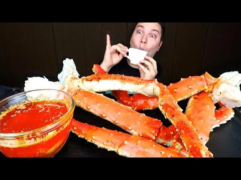 bloves-sauce-king-crab-legs-•-mukbang