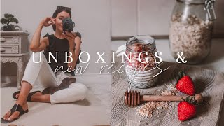 Unboxings, New In Beauty &amp Overnight Oats Recipe  Daily Grace