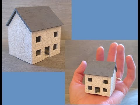 112th Scale Small Dolls House for a Dolls House Tutorial