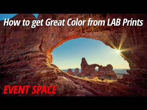 How To Get Great Color From LAB Prints