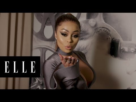 Getting Ready With Blac Chyna | ELLE