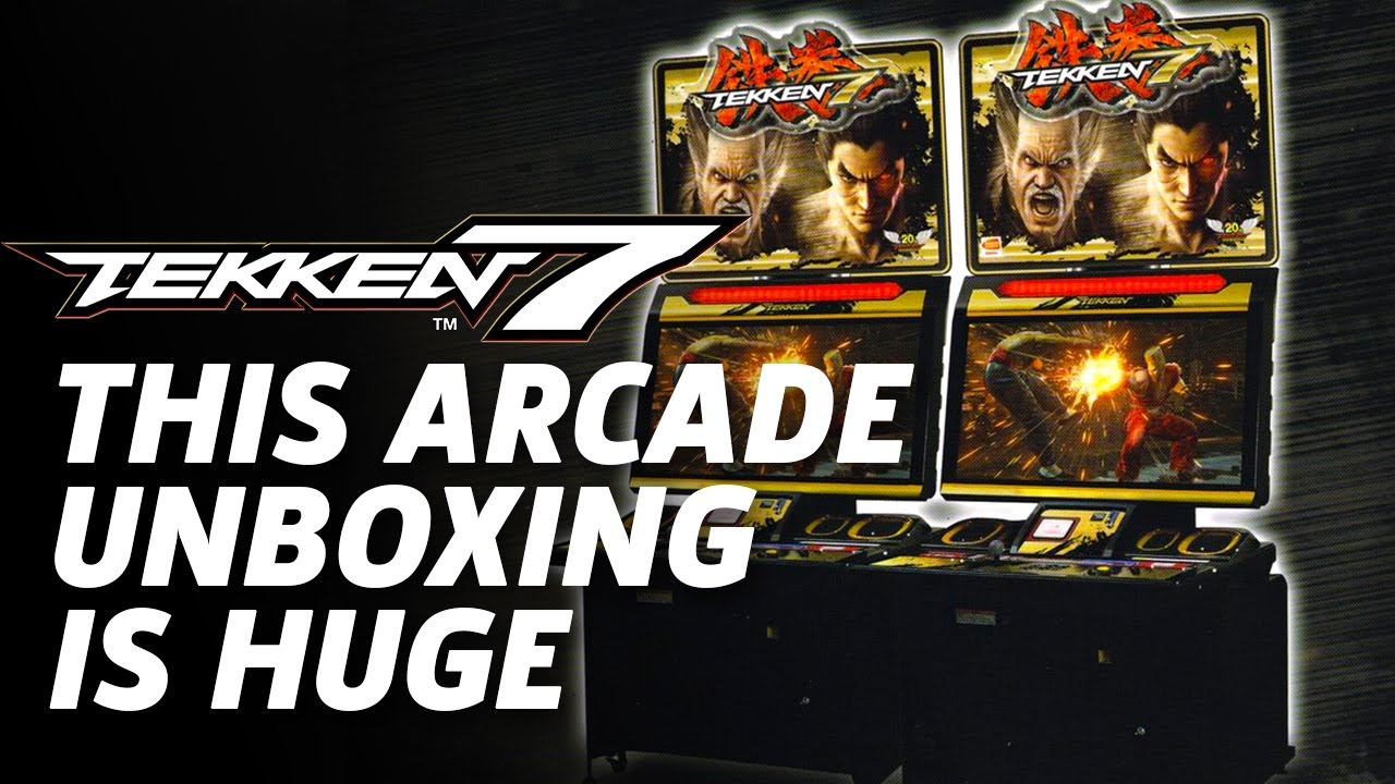 Tekken 7 Arcade Cabinet Unboxing - YouTube