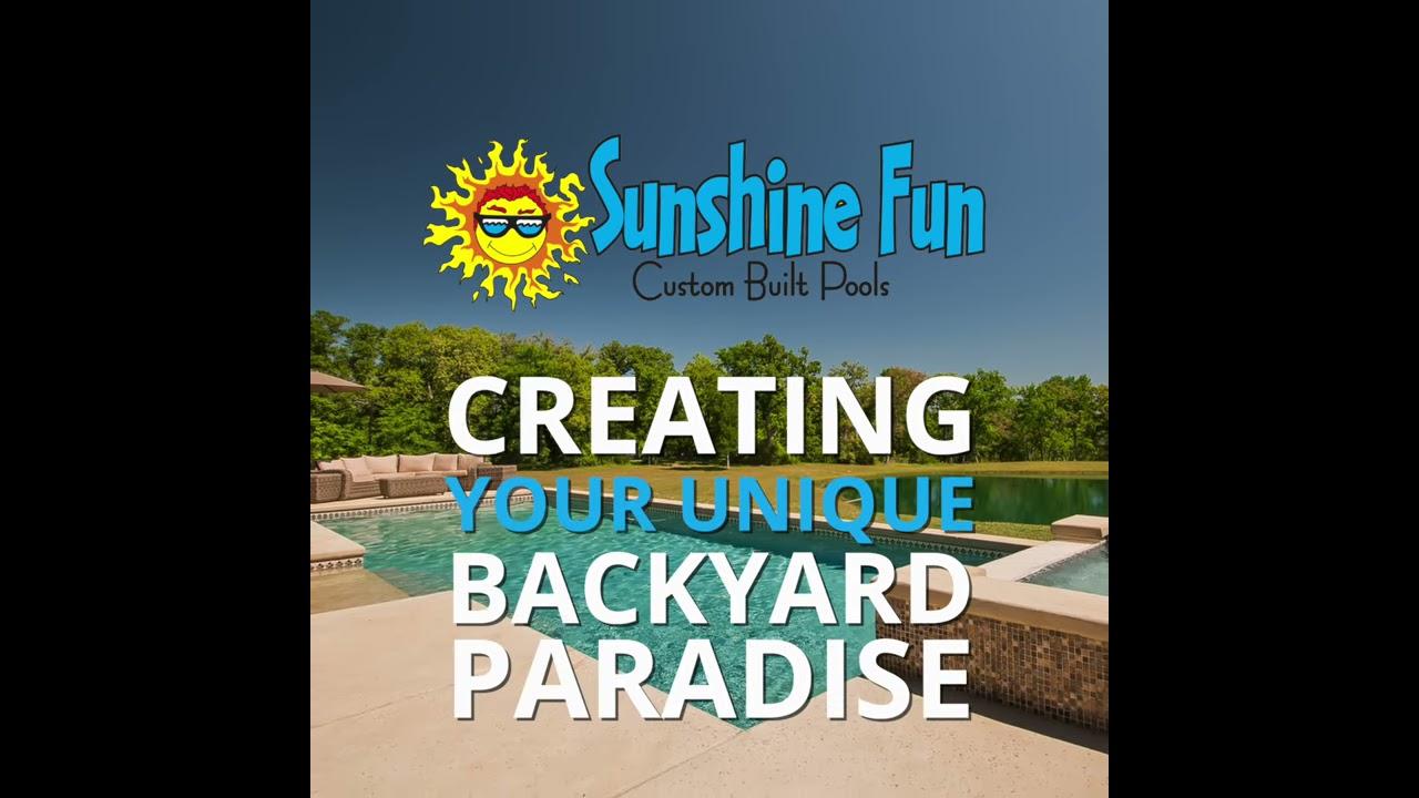 Your Unique Backyard Paradise, College Station Pool ...