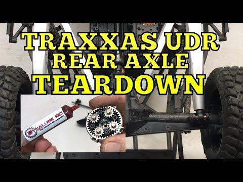 Rear axle teardown and inspection