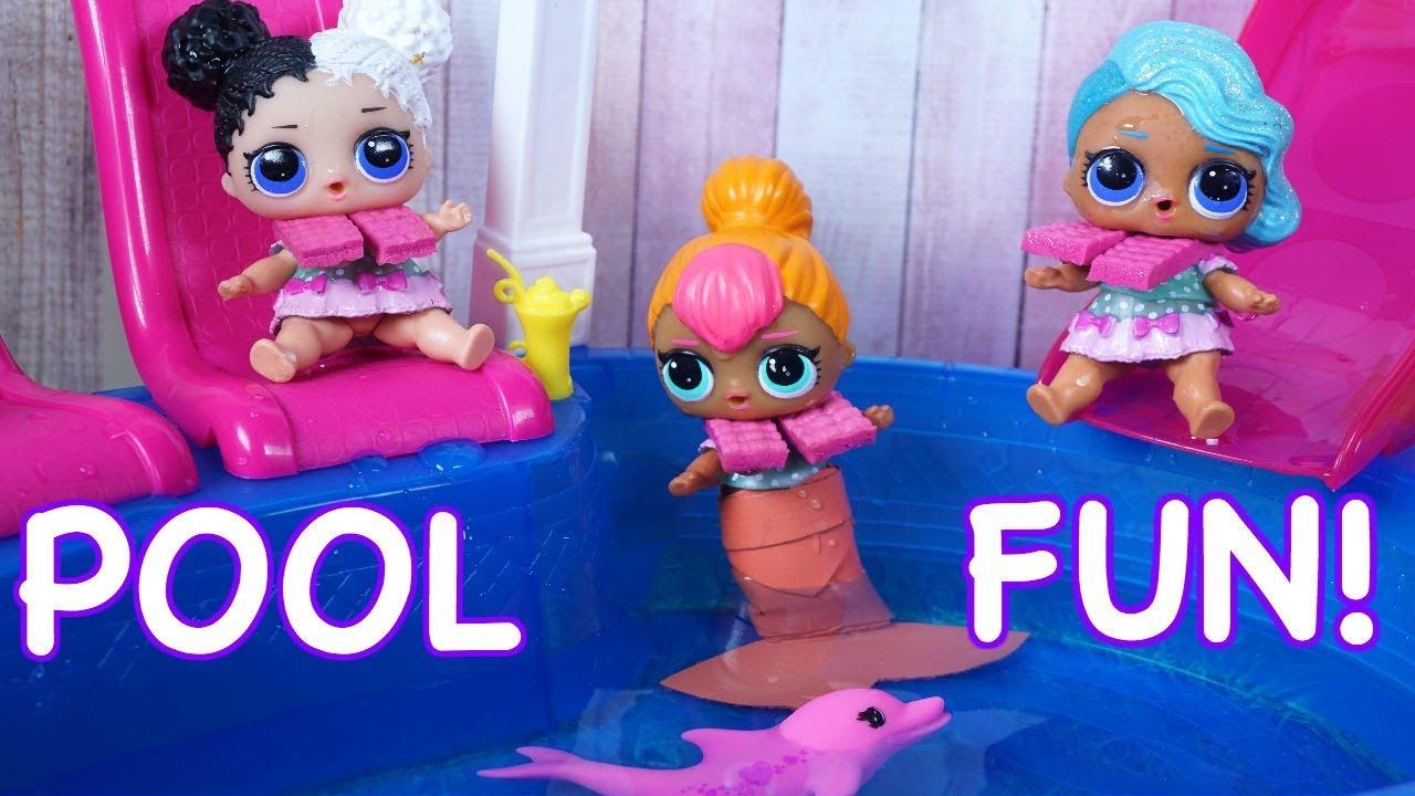 Lol Surprise Dolls Find An Amazing Babysitter Amp Go